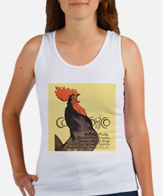 Vintage Rooster Crowing Tank Top