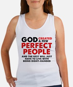Perfectly Left-Handed Left Hand Funny Tank Top