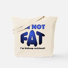Kidnap Resistant Funny Tote Bag