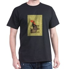 Vintage Rooster Crowing T-Shirt