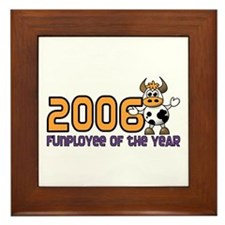 2006 Funployee of the Year Deluxe Award Plaque