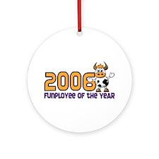 2006 Funployee of the Year Award Medallion