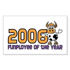 2006 Funployee of the Year Award Decal