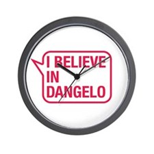 I Believe In Dangelo Wall Clock