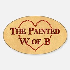 The Painted W Of B Decal