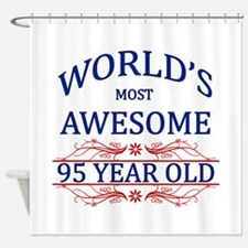 World's Most Awesome 95 Year Old Shower Curtain