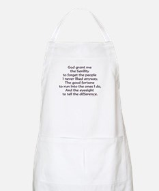 God grant me the Senility... BBQ Apron