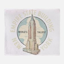 Empire State Throw Blanket
