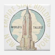 Empire State Tile Coaster