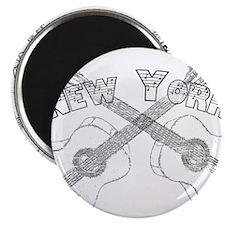 New York Guitars Magnet