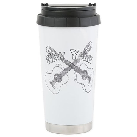 New York Guitars Travel Mug