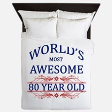 World's Most Awesome 80 Year Old Queen Duvet
