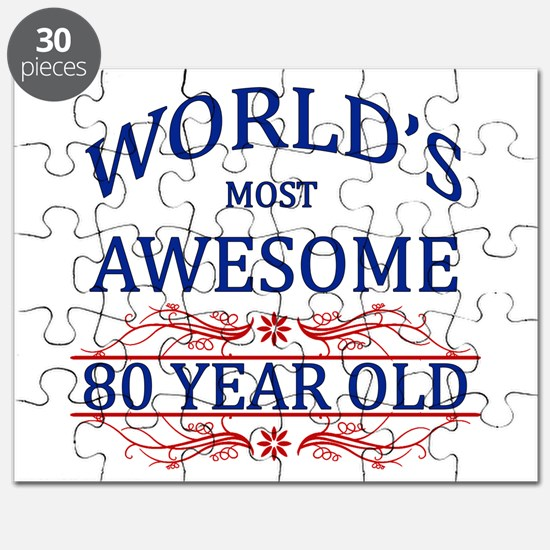 World's Most Awesome 80 Year Old Puzzle