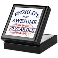 World's Most Awesome 70 Year Old Keepsake Box