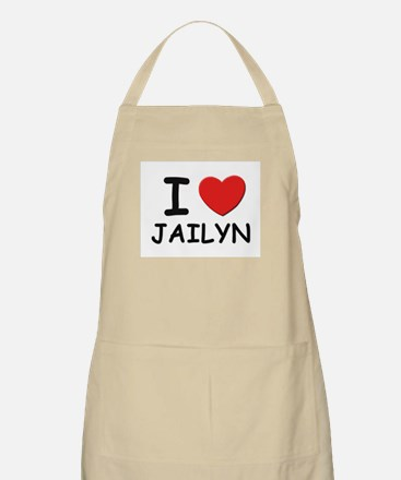 I love Jailyn BBQ Apron