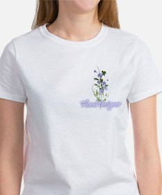 Floral Designer Morning Glory T-shirt