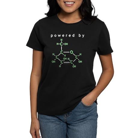 Powered By Glucose Women's Dark T-Shirt
