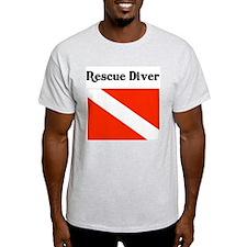 Rescue Diver Ash Grey T-Shirt