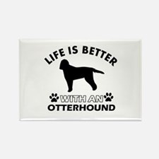 Life is better with Irish Otterhound Rectangle Mag