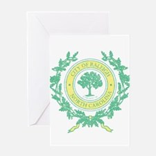Vintage Raleigh North Carolina Greeting Card