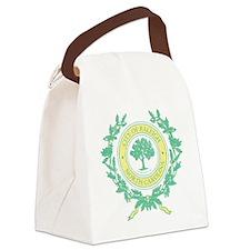 Vintage Raleigh North Carolina Canvas Lunch Bag