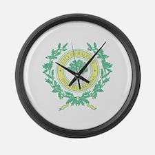 Vintage Raleigh North Carolina Large Wall Clock