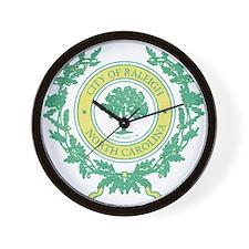 Vintage Raleigh North Carolina Wall Clock
