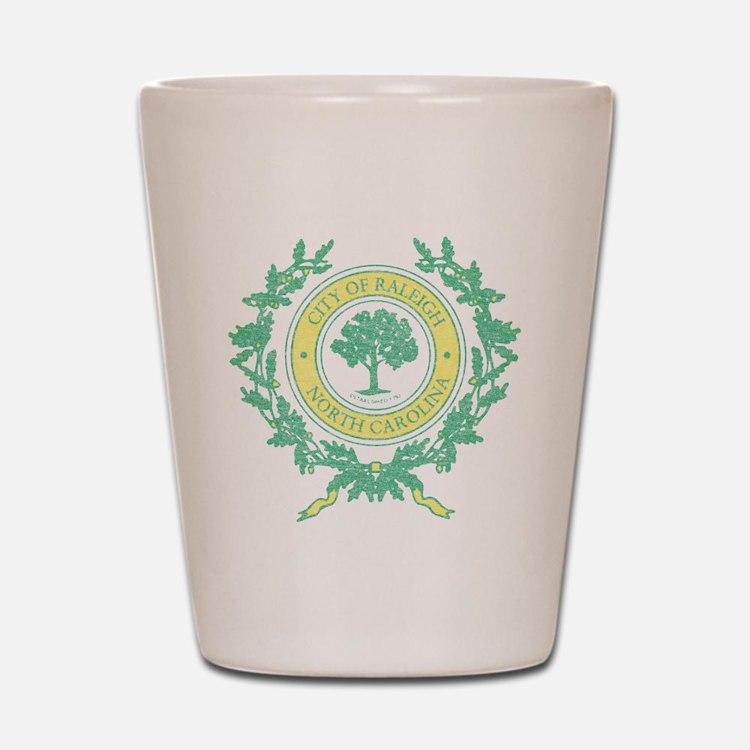 Vintage Raleigh North Carolina Shot Glass