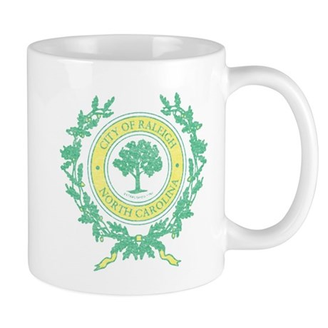 Vintage Raleigh North Carolina Mug
