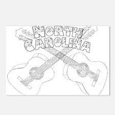 North Carolina Guitars Postcards (Package of 8)
