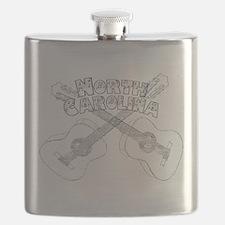North Carolina Guitars Flask