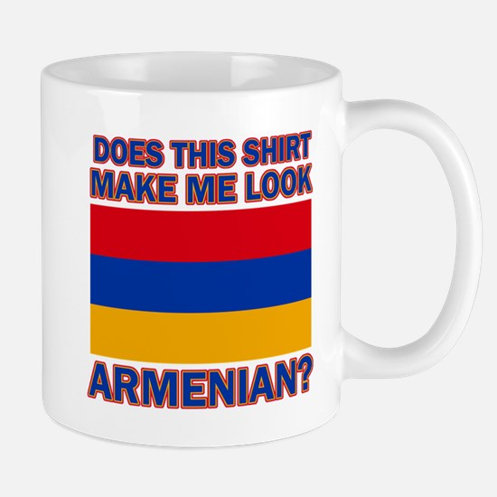 Armenian flag designs Mug