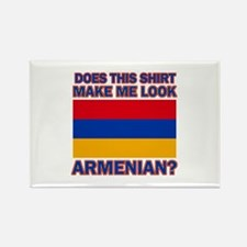 Armenian flag designs Rectangle Magnet