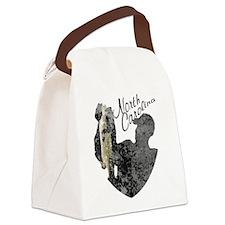 North Carolina Fishing Canvas Lunch Bag