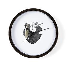 North Carolina Fishing Wall Clock
