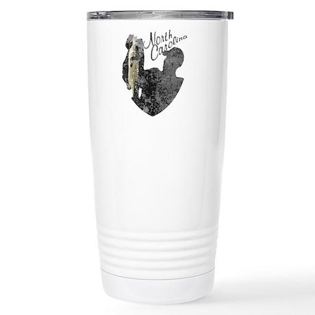 North Carolina Fishing Travel Mug