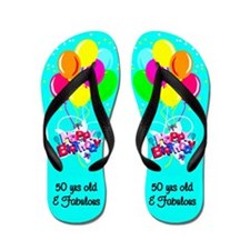MARVELOUS 50TH Flip Flops