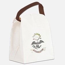 North Dakota Vintage State Flag Canvas Lunch Bag