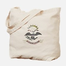 North Dakota Vintage State Flag Tote Bag