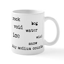 Any medium counts Mug