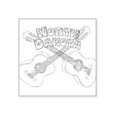 North Dakota Guitars Sticker