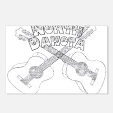 North Dakota Guitars Postcards (Package of 8)