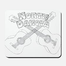 North Dakota Guitars Mousepad