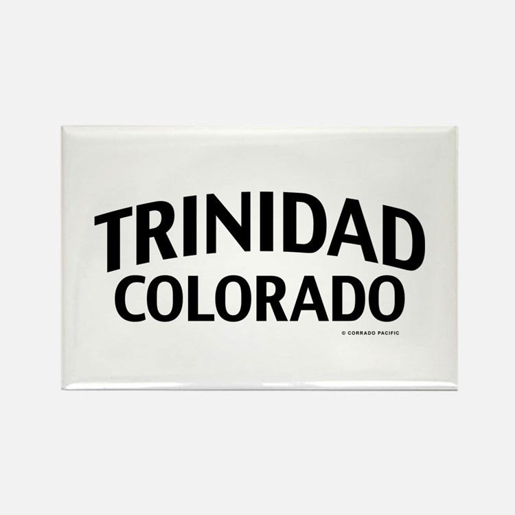 Trinidad Colorado Rectangle Magnet