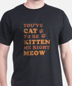You've Cat To Be Kitten Me T-Shirt