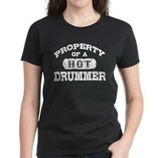 Property of a Hot Drummer Tee