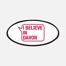I Believe In Davon Patches
