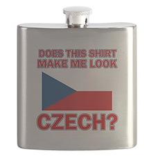 Czech flag designs Flask
