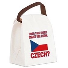 Czech flag designs Canvas Lunch Bag