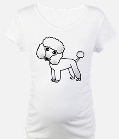 Cute White Poodle Shirt